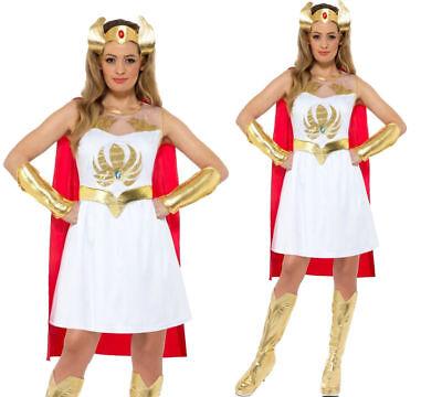 She Ra Kostüm Masters Of Universe Damen Superheld He Man Kostüm 8-18