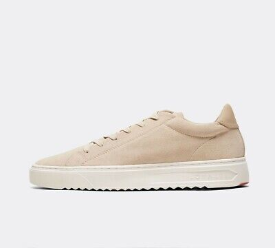 Mens Loyalti Patriot Cup Sand/White Trainers (SF1) RRP £67.99