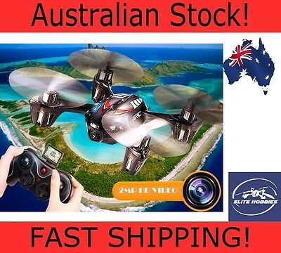 Flying HD Video Camera Drone FAST Quadcopter with LCD Elite Hobbies DFD F180C2r