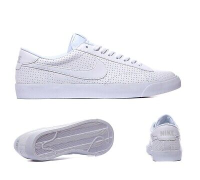 Mens Nike Tennis Classic AC White Trainers (NF1) RRP £64.99