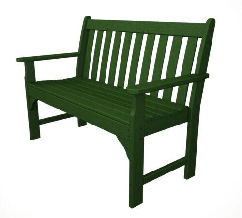 Poly Wood GNB48GR Vineyard 48 in. Bench - Green