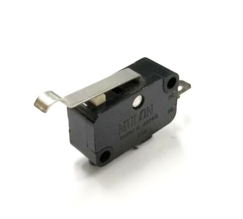Mulon VMA-22PDM3 SPST-NO OFF-(ON) Simulated Roller Lever micro switch 10A 125VAC