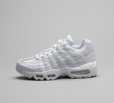 Womens Nike Air Max 95 White Trainers (NF1) RRP £99.99