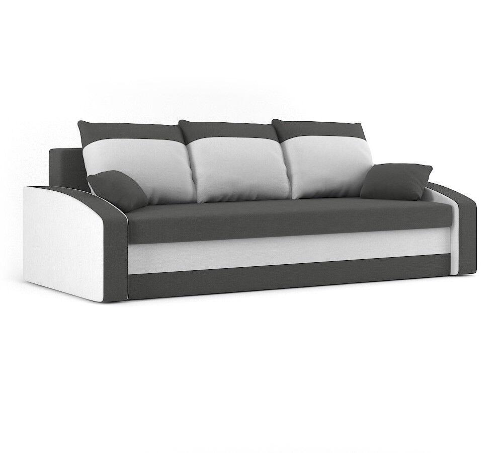 Couch HEWLET mit Schlaffunktion BEST Couch mit Bettkasten!