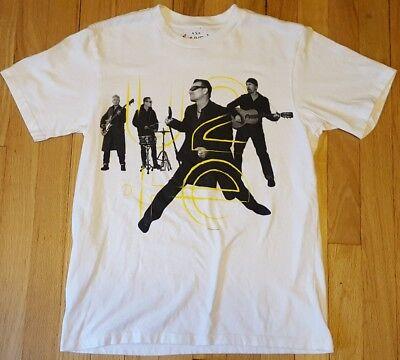 2015 U2 shirt S Innocence Experience tour white concert live Kenya Bono official image
