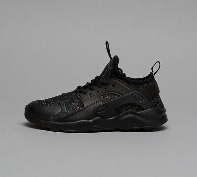 Infant Nike Huarache Run Ultra SE Black/Grey Trainers (NF1) RRP £54.99