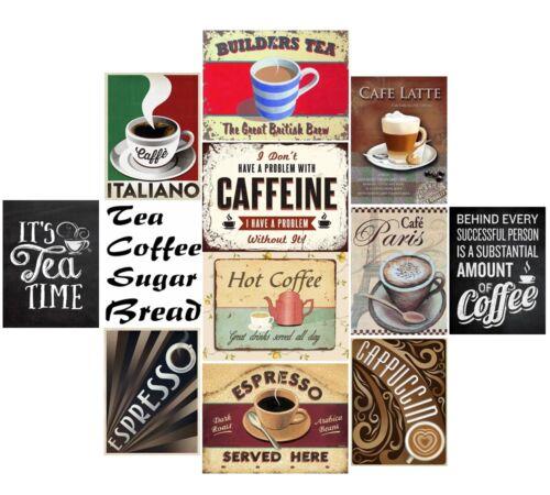 Cream Teas Cafe Cuisine Rétro Métal Plaque Murale Art VINTAGE TIN SIGN TIN a4