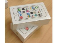 Apple iPhone 5s 16GB - White Factory Unlocked Sim Free Brand New Smart Phone Top UK Seller