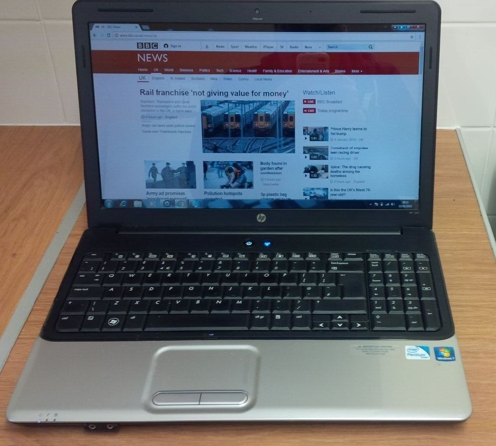 HP G61 Laptop, Windows 7, Very Good Condition.