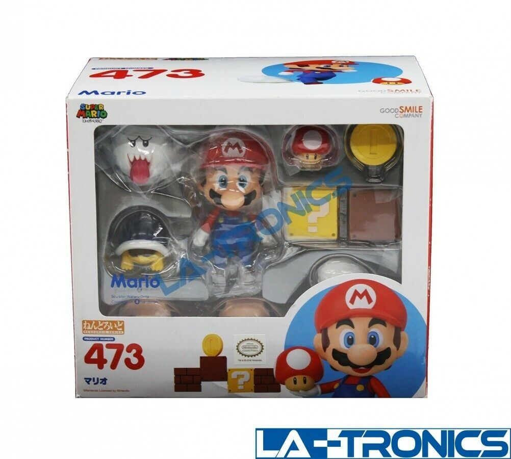 SEALED Good Smile Company Super Mario Nendoroid 473 Action Figure