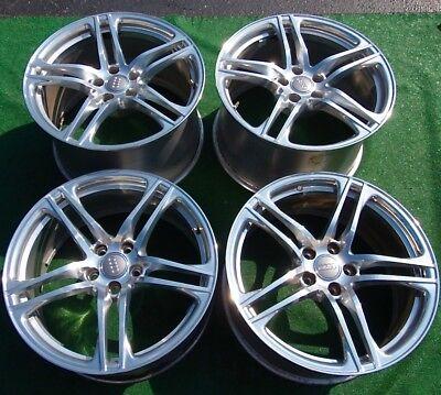 Set 4 Excellent Original Genuine OEM Factory Audi R8 Polished FORGED 19 WHEELS