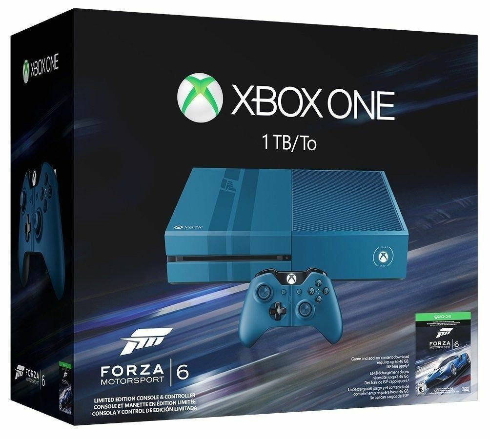 Microsoft Xbox One Forza Motorsport 6 Limited Edition 977GB Gray ...