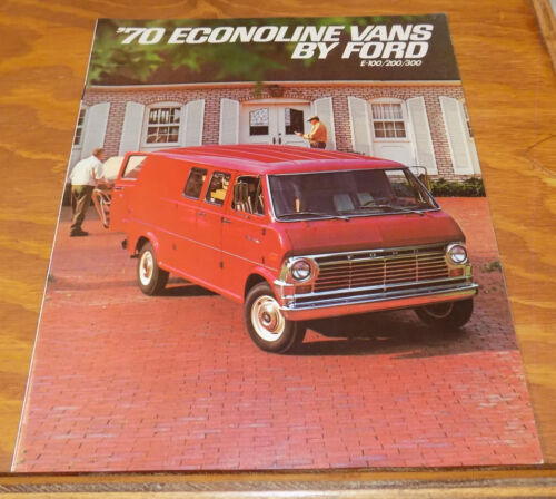 1970 Vehicle Brochure /// ECONOLINE VANS BY FORD