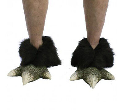 Dragon Feet Monster Lizard Reptile Claws Adult Shoe Covers Halloween - Lizard Man Costume
