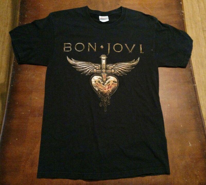 BON JOVI 2011 TOUR MEDIUM SHIRT ROCK AND ROLL BAND