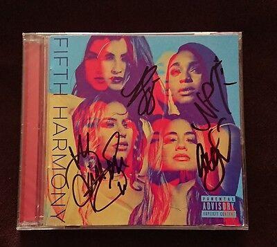 4X Signed Fifth Harmony Cd Ally Brooke Normani Kordei Dinah Jane Lauren Jauregui