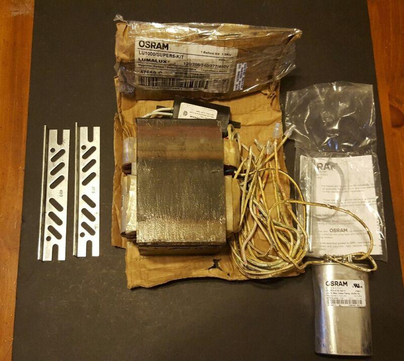 Osram 47659-C LU1000/Super5-Kit 120/208/240/277/480V Magnetic Ballast