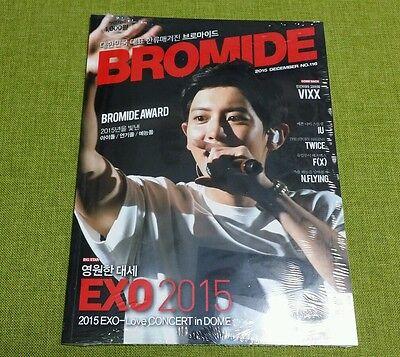 Bromide EXO VIXX F(X) TWICE IU N.FLYING : Magazine 2015 DEC. no.116, New Sealed