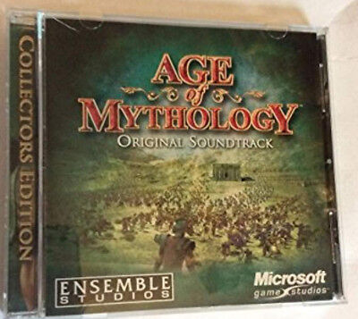 Age of Mythology Original Soundtrack CD Computer Game Music Ensemble Studios for sale  Shipping to India
