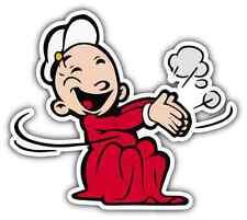 """Swee/'Pea Popeye the Sailor Swee Pea Car Bumper Window Locker Sticker Decal 4/""""X5/"""""""