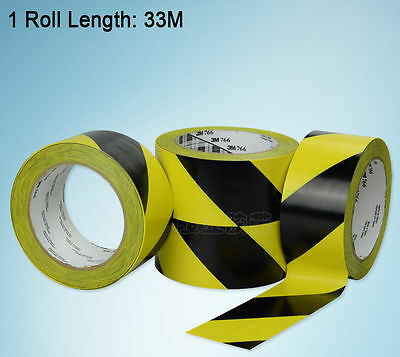 1Roll Black&Yellow Striped Floor Marking Safety Hazard Warning Caution Tape covid 19 (Caution 1 Roll coronavirus)