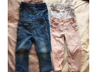 Girls next jeans 12-18 month