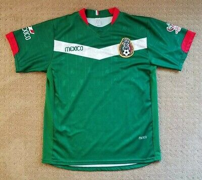 Mexico Jersey 2006 FIFA World Cup Germany REMINI Green Red Men's Sz L? Futbol image