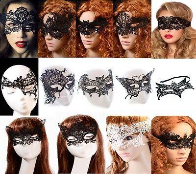 maske 16 Modelle Spitze Venezianisch  Halloween Karneval   (Auge Masken Halloween)