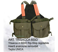 Trisacca Caccia Alta Visibilita 'cartuccera Porta Borsa Caccia Richiami -  - ebay.it