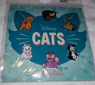 Disney Trading Pins Disney Cats Booster Set SEALED **REDUCED**