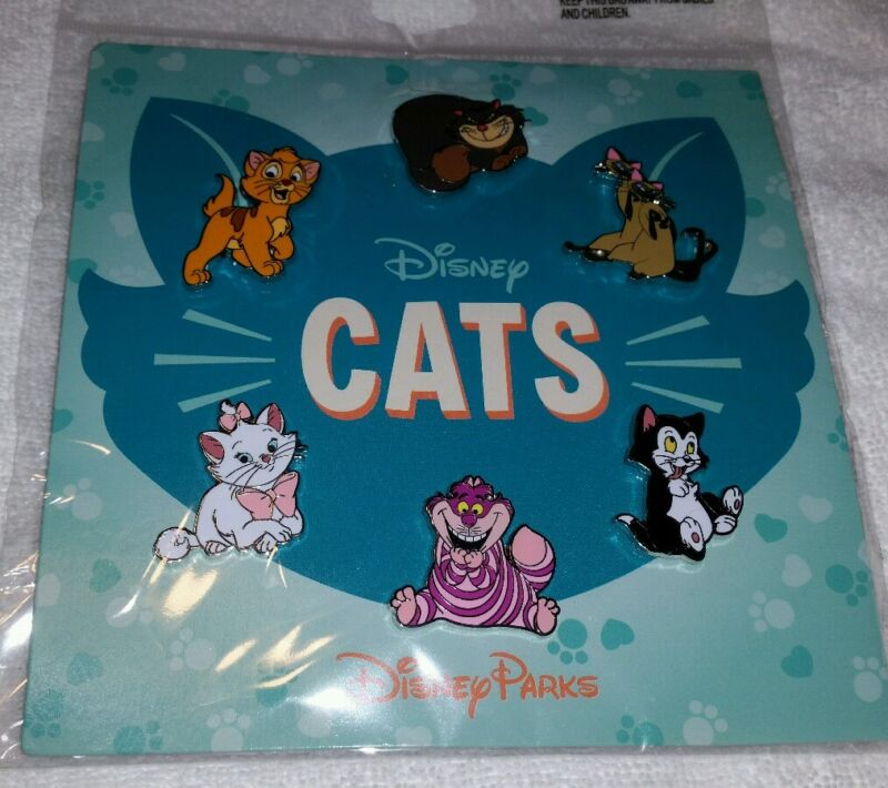 Disney Pin Cats Booster Set SEALED Authentic  FREE SHIP