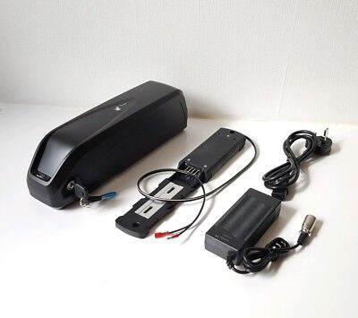 48V 14Ah 1000W Hailong Lithium Li-ion LG Cells e-Bike Battery, USB & UK Charger