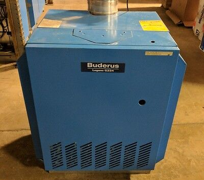 Buderus Hot Cut Gas Convectional Boiler Logano G234X - Excellent Condition !!