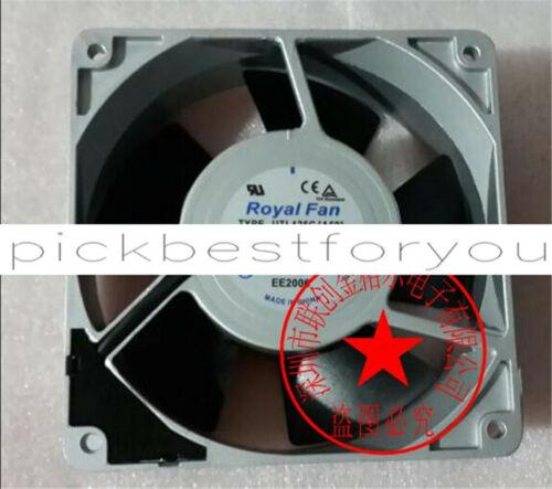 1PCS ROYALFAN UTL125C(A59)AC200V 15/14W Aluminum frame cooling fan #M153C QL