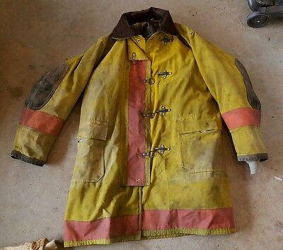 Firefighter Fireman Turnout Globe Bunker Gear Jacket Coat Rare