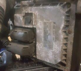 2003 SMART FOR TWO ENGINE .6L 599cc 600cc ECU 0003107V007 BOSCH 0261205005