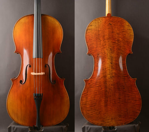 "Stradivari 1730 ""De Munck"" Copy ! Best Model Cello ,Slim body"