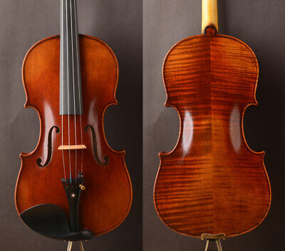 Musical Instruments Hard-Working Violin Head Maple Neck Hand Carved Maple Wood Violin Ebony Fingerboard Instrument Accessory Part For Training Performance