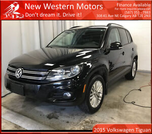 2015 Volkswagen Tiguan Special Edition/Back-up Cam/Heated seats/