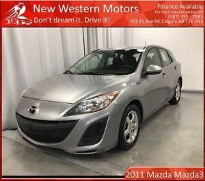 2011 Mazda Mazda3 Sport GX LOW KM!!!!
