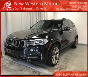 2014 BMW X5 xDrive35i/ Fully loaded/ Heads up Display/ LOW KM