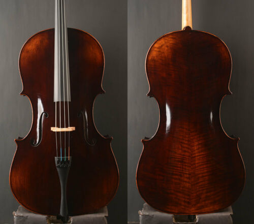 Special Offer! An Best Cello 7/8 Size Deep Tone,Size for lady Use,Dark antique