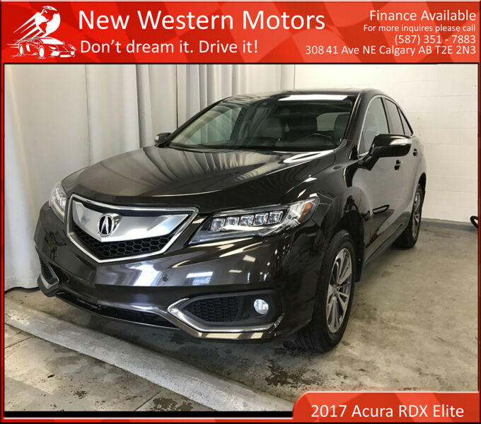 2017 Acura RDX Elite Pkg/ Remote Starter/ Fully Loaded
