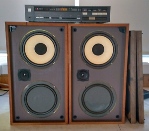 Vintage speakers amplifier Denistone Ryde Area Preview