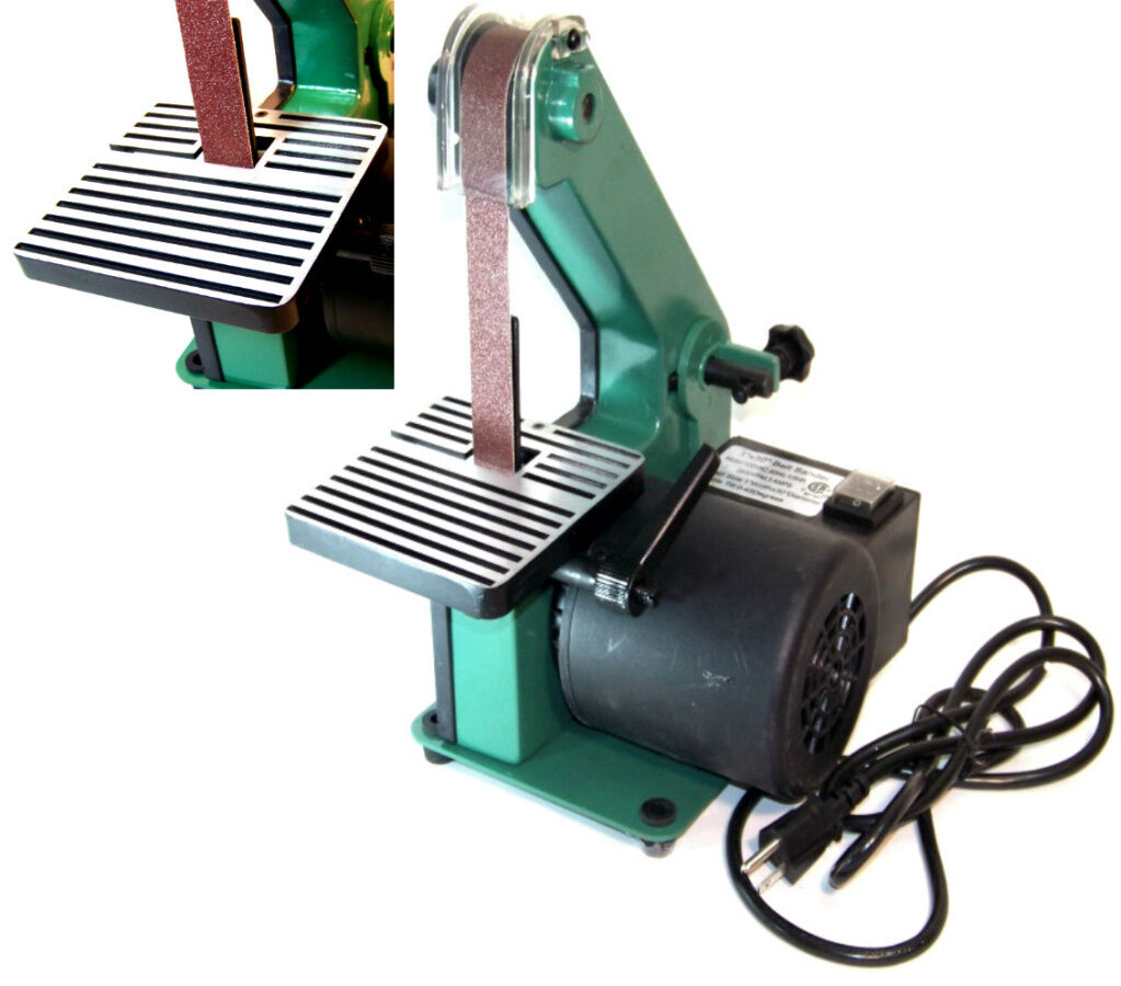1 X 30 Belt Sander 1/3 Hp Top Bench Sanding Power Tool 3400 Rpm