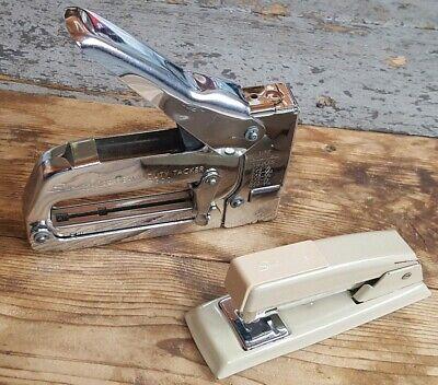 Vintage Swingline Heavy Duty Tacker Model 800 Standard Stapler 118-71