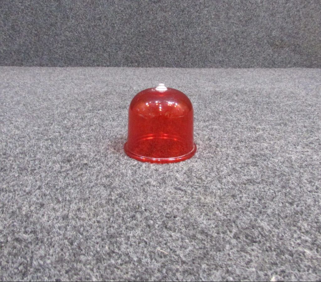 21740-5 Grimes Red Glass Lens (New Old Stock)