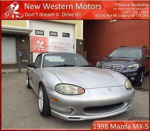 1998 Mazda MX-5 Miata Convertible JDM RHD LOW KM!