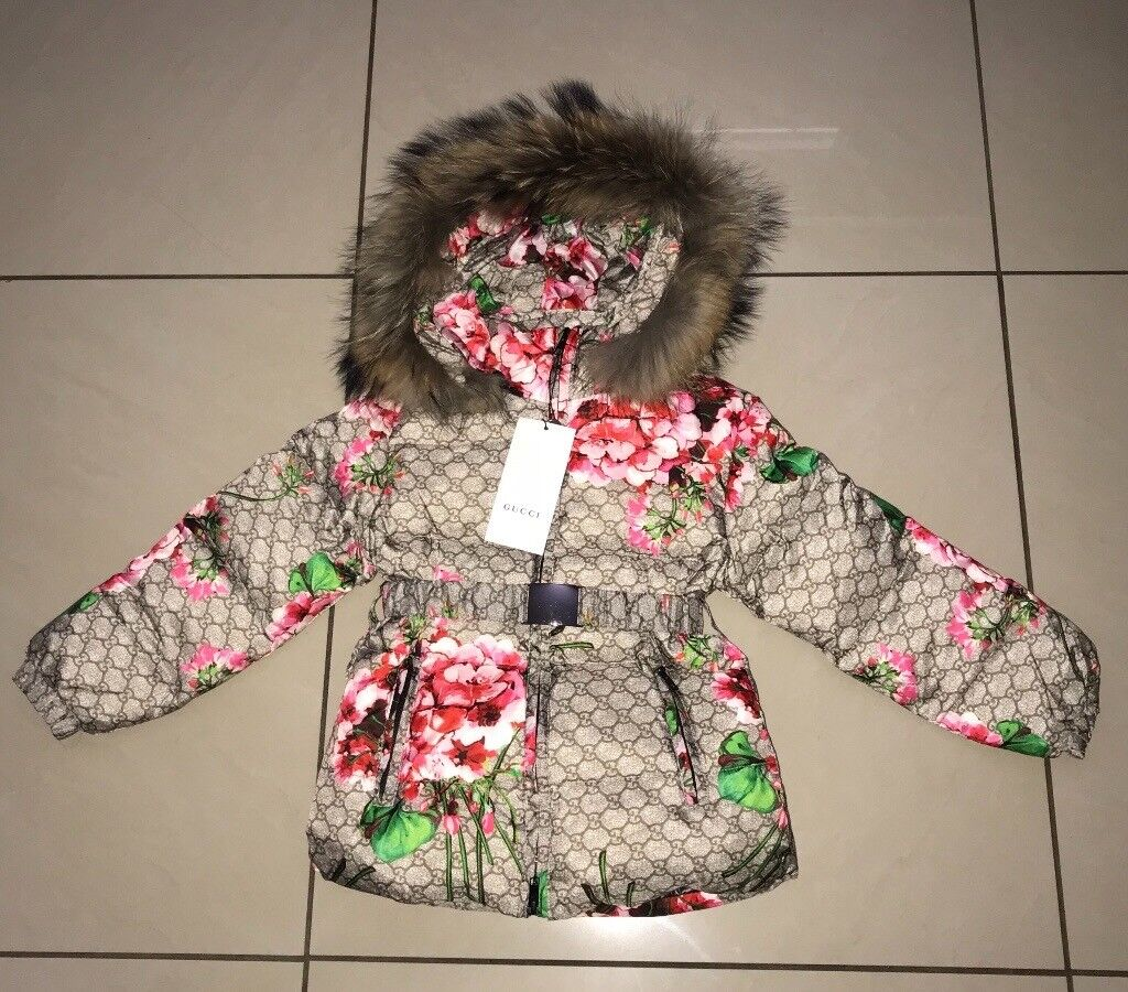 8c0be0238 Girls Gucci GG logo down raccoon fur jacket   in Tollcross, Glasgow ...