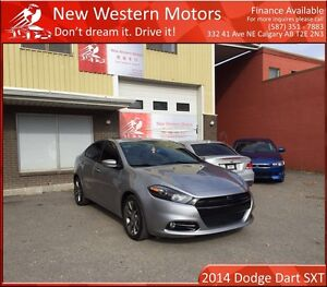 2014 Dodge Dart SXT RALLYE LIGHT HAIL! LOW KM! B.CAM! MUCH MORE!
